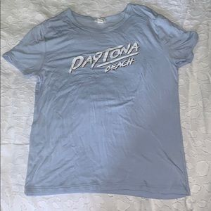 S Blue Daytona Beach Tee.